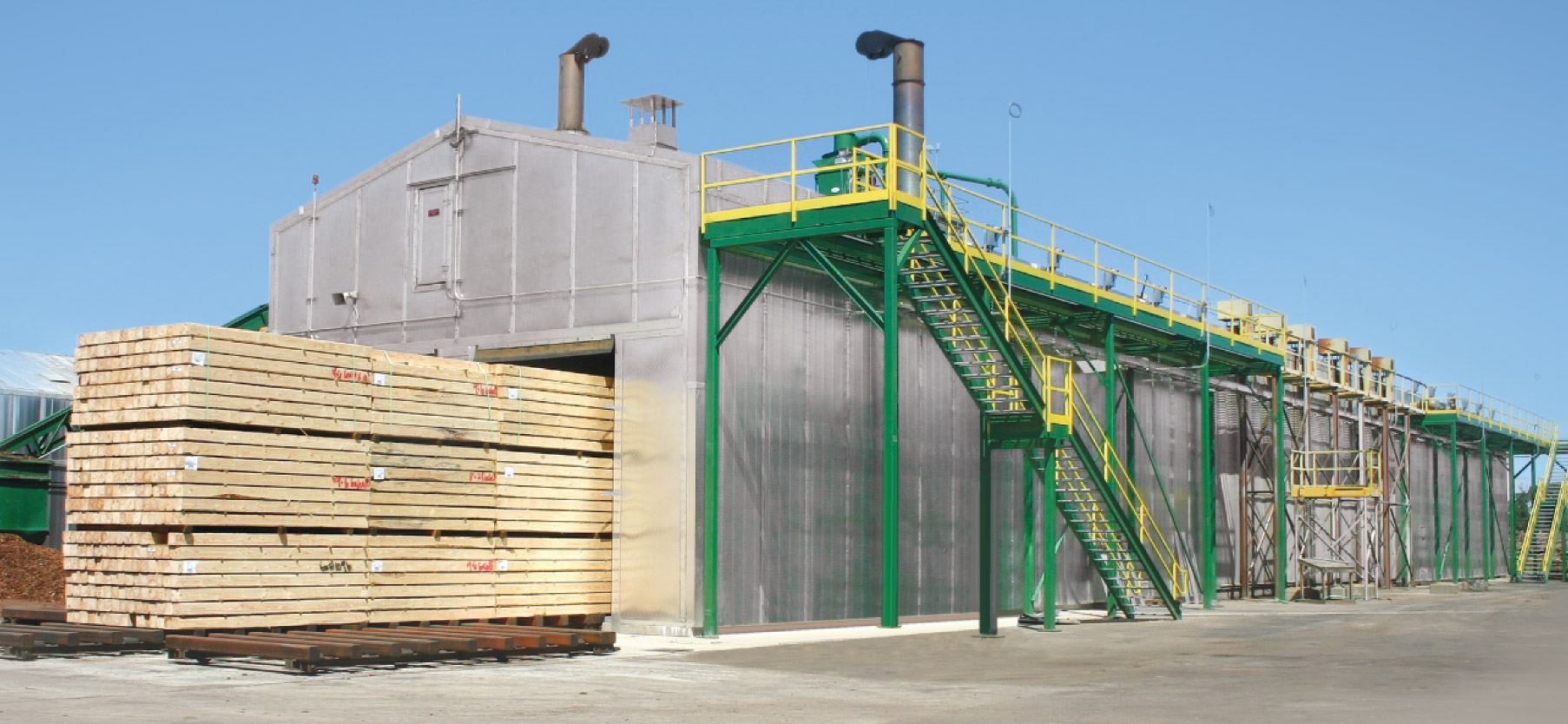 Continuous Kilns American Wood Dryers Inc